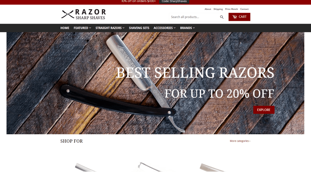 Razor-sharp-shave-site